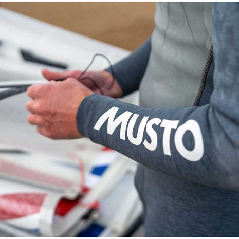Musto Flexlite Vapour 1.0 LS Top - Grey Marle
