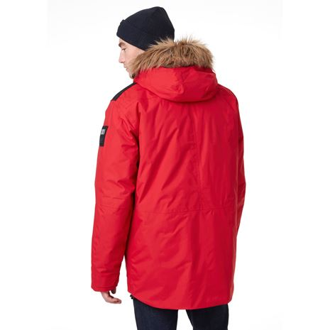 Helly Hansen Svalbard Parka - Red