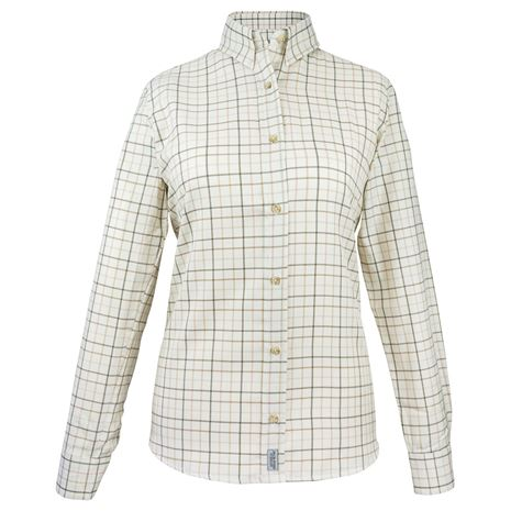 Jack Pyke Ladies Countryman Shirt - Brown Check
