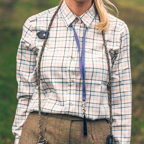 Jack Pyke Ladies Countryman Shirt - Navy Check