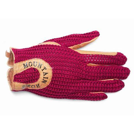 Mountain Horse Crochet Glove II - Racey Pink