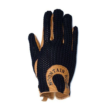Mountain Horse Crochet Glove II - Black