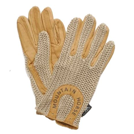 Mountain Horse Crochet Glove II - Sand