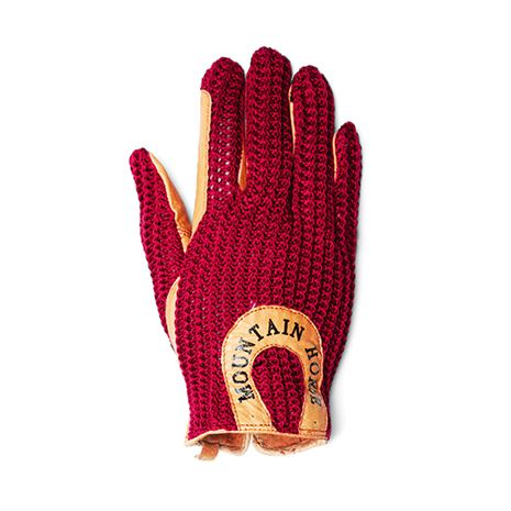 Mountain Horse Crochet Glove II - Royal Red