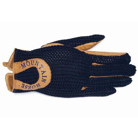 Mountain Horse Crochet Glove II - Navy