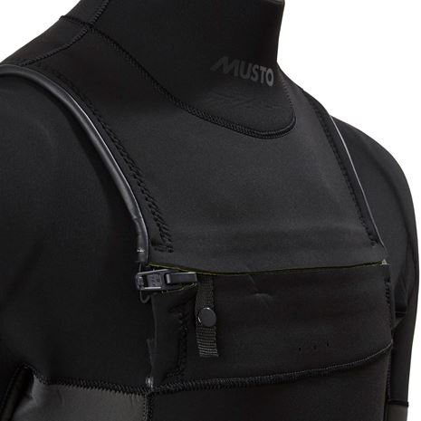Musto Foiling Thermohot Impact Steamer - Dark Grey/Black