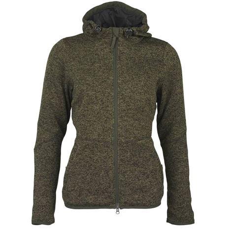 Laksen Galloway Knitted Fleece - Green