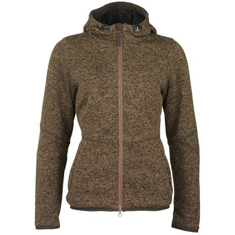 Laksen Galloway Knitted Fleece - Brown