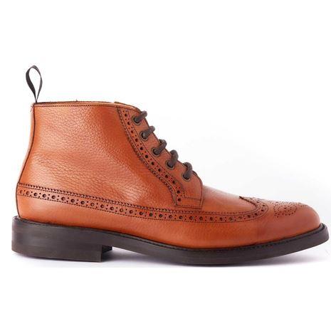 Dubarry Down Brogue Boot - Tan