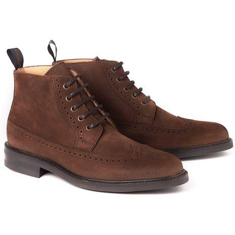 Dubarry Down Brogue Boot  - Brown