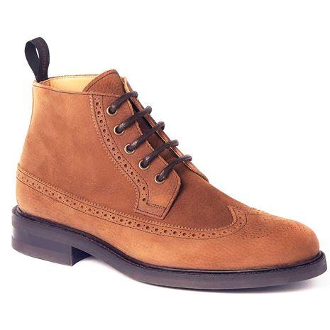 Dubarry Down Brogue Boot  - Walnut