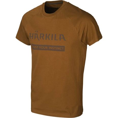 Harkila Logo T-Shirt (2 Pack) - Rustique Clay