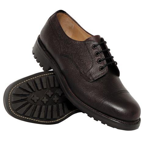 Hoggs Of Fife Roxburgh Veldtschoen Shoe (Commando Soled)