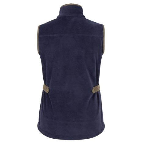 Hoggs of Fife Stenton Ladies Fleece Gilet - Navy