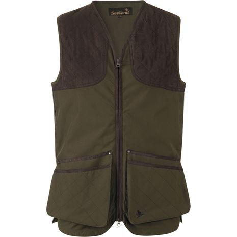 Seeland Winster classic Waistcoat - Pine Green