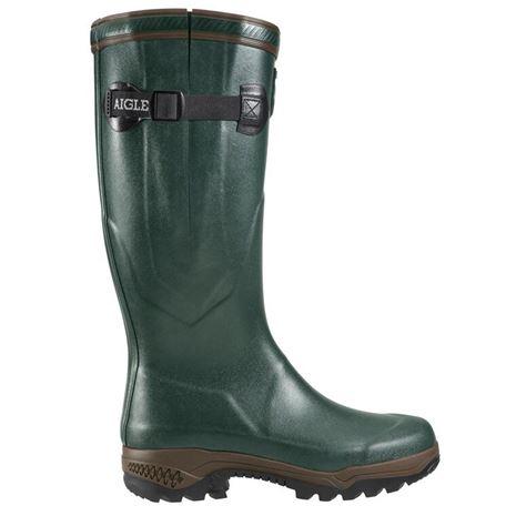 Aigle Parcours® 2 Vario Wellington Boot - Bronze Green
