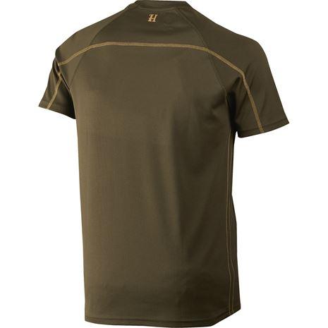 Harkila Herlet Tech S/S T-Shirt - Rear - Willow Green