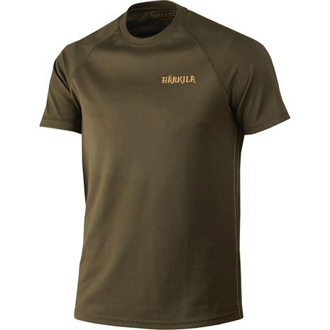 Harkila - Herlet Tech S/S T-Shirt - Willow Green