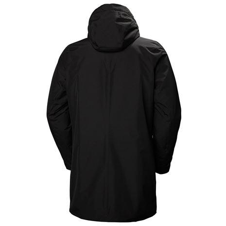 Helly Hansen Oslo Padded Coat - Black - Rear