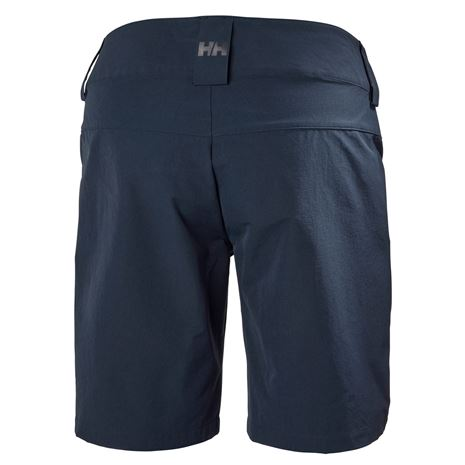 Helly Hansen Womens QD Cargo Shorts - Navy - Rear