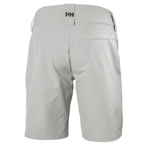 Helly Hansen Womens QD Cargo Shorts - Grey Fog - Rear