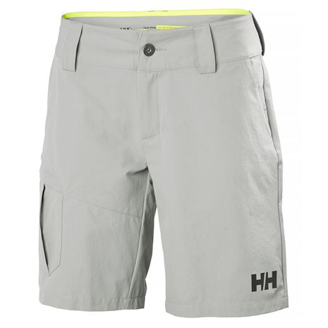 Helly Hansen Womens QD Cargo Shorts - Grey Fog