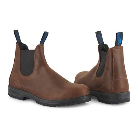 Blundstone 1477 Leather Chelsea Boot - Antique Brown