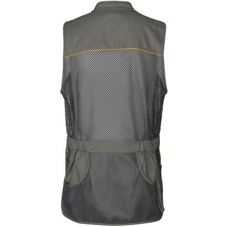 Seeland Skeet II Waistcoat - Gunmetal Back