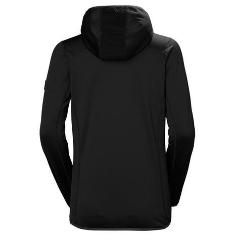 Helly Hansen Women's Vertex Hoodie - Black - Rear