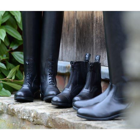 Saxon Syntovia Tall Field Boots - Left