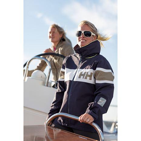 Helly Hansen Womens Salt Flag Jacket - Graphite Blue