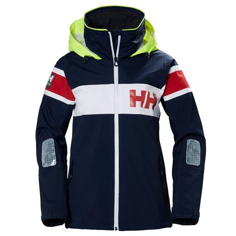 Helly Hansen Womens Salt Flag Jacket - Navy