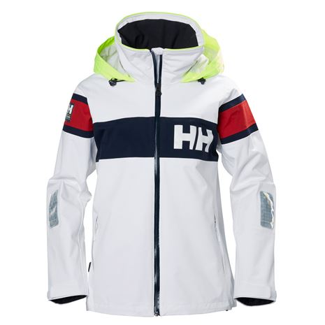 Helly Hansen Womens Salt Flag Jacket - White