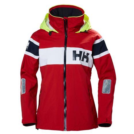 Helly Hansen Womens Salt Flag Jacket - Red