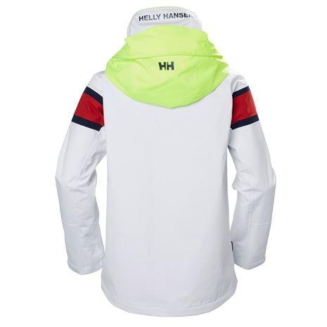 Helly Hansen Womens Salt Flag Jacket - White - Rear