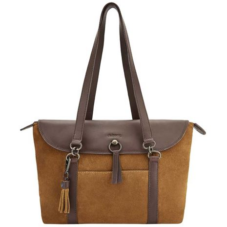 Dubarry Parkhall Leather Tote Bag - Camel