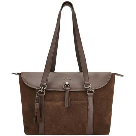 Dubarry Parkhall Leather Tote Bag - Cigar