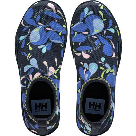 Helly Hansen Women's Crest Watermoc Shoe - Navy/Coast Blue