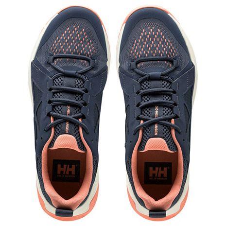 Helly Hansen Women's Gobi APS Shoes - Deep Steel / Papaya Punch