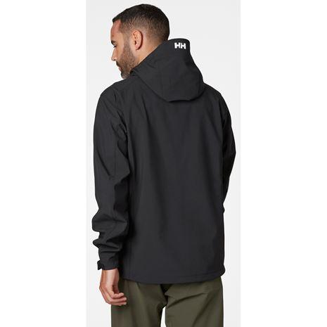 Helly Hansen Paramount Hooded Softshell Jacket - Black