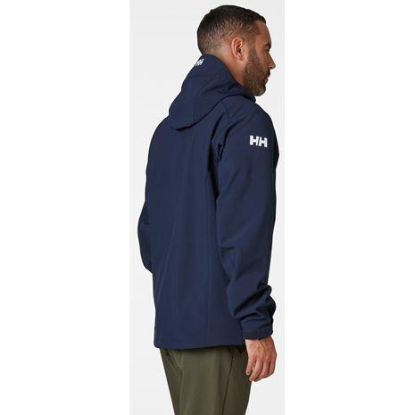Helly Hansen Paramount Hooded Softshell Jacket - Navy