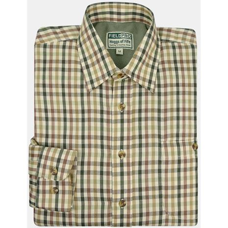 Hoggs of Fife Bracken Micro-fleece shirt