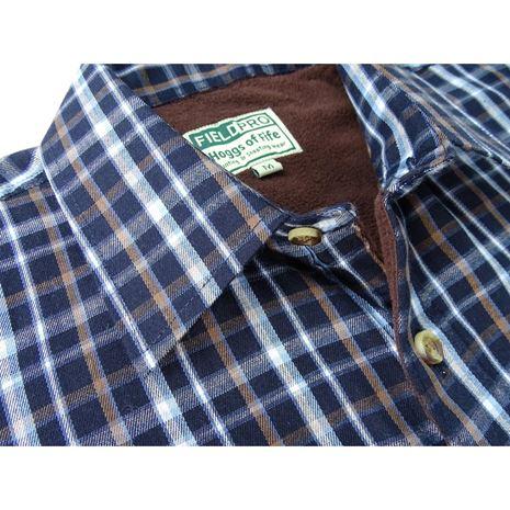 Hoggs of Fife Bark Micro-fleece shirt
