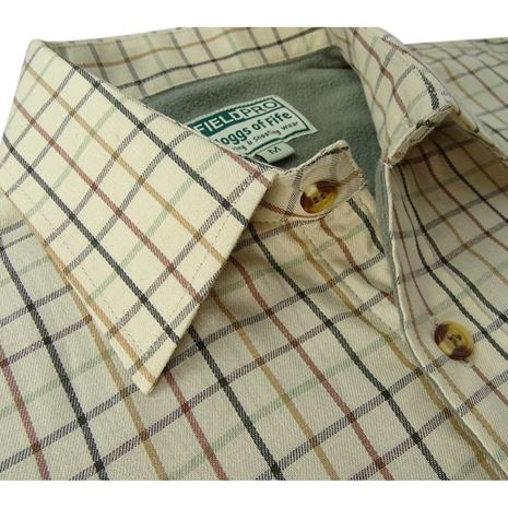 Hoggs of Fife Birch Micro-fleece shirt