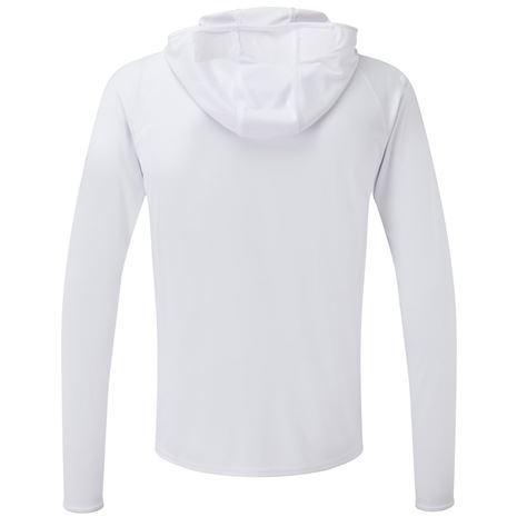 Gill UV Tec Hoody - White - Rear