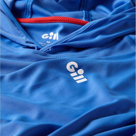 Gill UV Tec Hoody - Blue