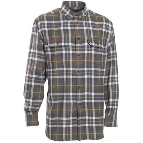 Deerhunter Marlon Shirt L/S - Green Check - Front