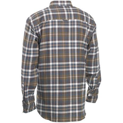 Deerhunter Marlon Shirt L/S - Green Check - Rear