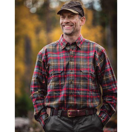 Deerhunter Marlon Shirt L/S - Red Check - Lifestyle