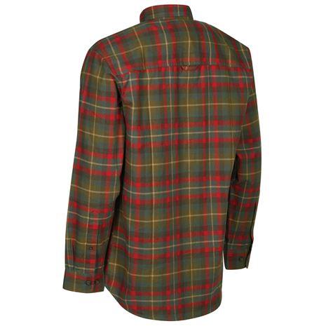 Deerhunter Marlon Shirt L/S - Red Check - Rear